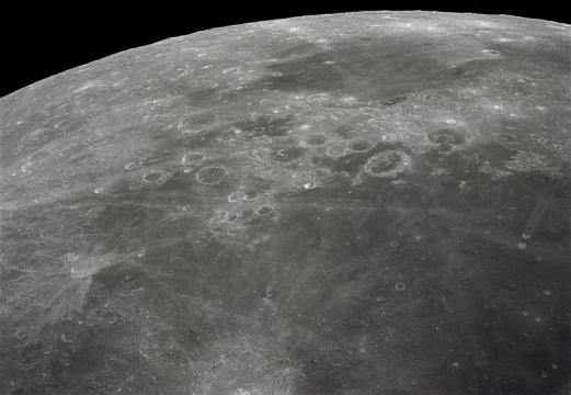 Sea of Fertility on the Moon (Credit – wikimediacommons)