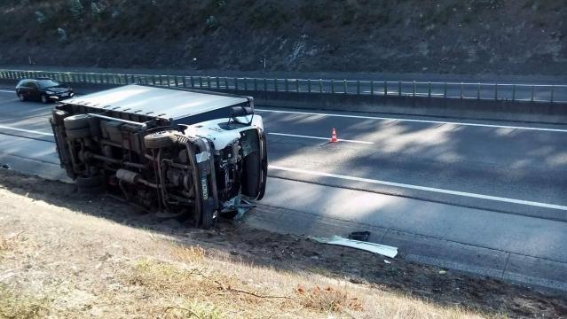 Acidente na A28 na zona de Vila Chã, Esposende.