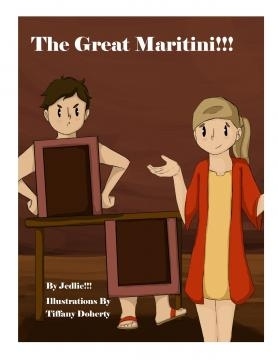 'The Great Maritini' is Jed Doherty's self-published children's book. / Photo via Jed Doherty, used with permission.
