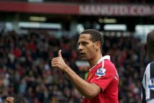 Ex united star Rio Ferdinand to try his hand at boxing. ( photo wikimedia)