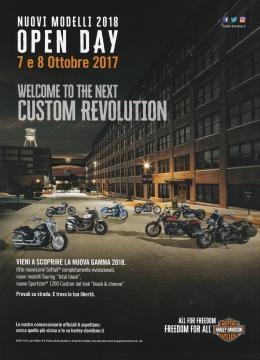 Harley-Davidson Open Day 7-8 ottobre 2017