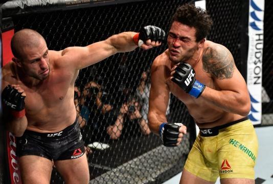 Saki tuvo un debut de ensueño en la UFC con el KO contra Henrique da Silva. USA Today.com