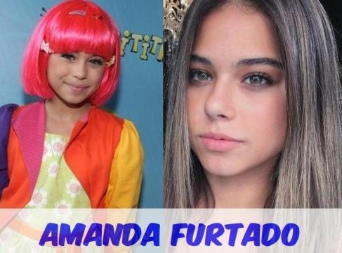 Amanda Furtado interpretava a boneca Laura