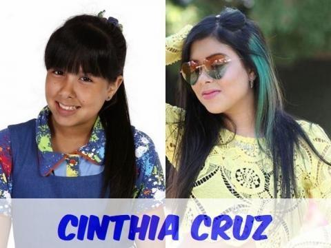 Cinthia Cruz interpretava Cris