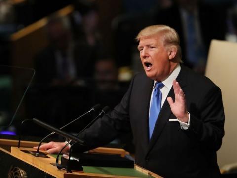 Devant l'ONU, Donald Trump menace de