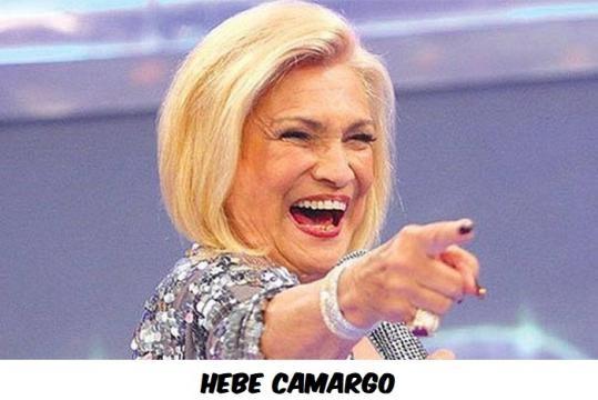 Hebe Camargo faleceu devido ao câncer no peritônio