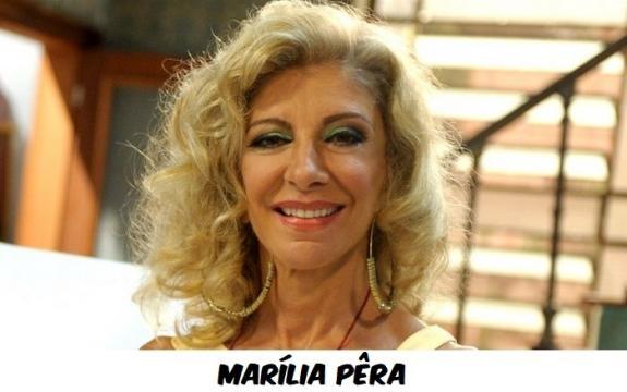 Mrília Pera foi vítima do câncer no pulmão