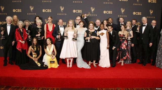 The Handmaid's Tale' Wins Top Prize at Emmy Awards - voanews.com