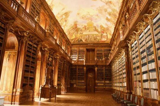 Strahov Monastery's library hall - Image Credit: Matthew Chacko