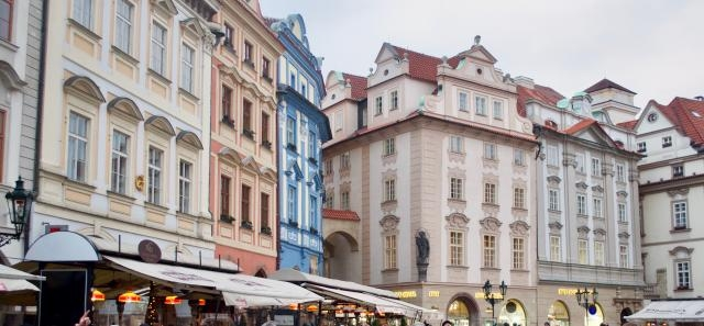 The colors of Prague - Image Credit: Matthew Chacko
