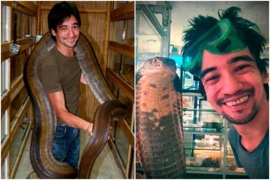Valeev era especialista em serpentes