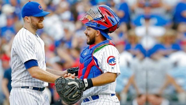 Wade Davis es un lujo para los Cubs como closer. MLB.com.