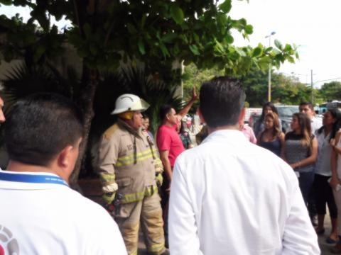 Autoridades se coordinaron para el simulacro