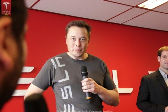 Could the intelligence of this genius put Moscow on its knees? Tesla and SpaceX will play a... - Elon Musk by Tesla Owners Club Belgium/Flickr