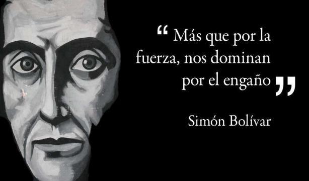 """Pensamientos del Libertador que no se cumplen"""" por @LombardiBoscan ... - elcolumnero.com"""
