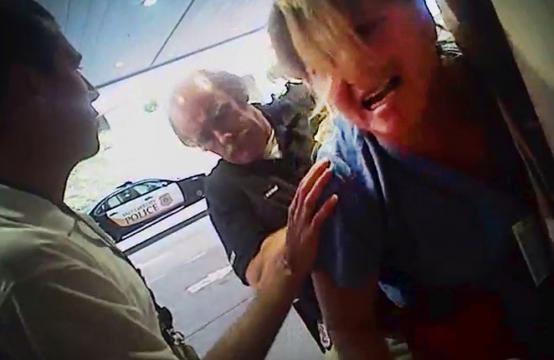 Alex Wubbels foi detida por Jeff Payne enquanto ela seguia a lei corretamente