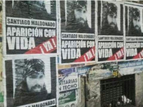 Desaparición de Santiago Maldonado: El caso llegó al New York ... - argnoticias.com