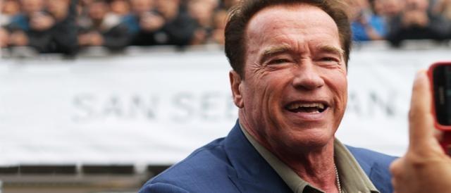 Arnold Schwarzenegger revoluciona San Sebastián