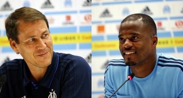 Ligue Europa : Garcia et Evra en conférence de presse, nos vidéos ... - laprovence.com