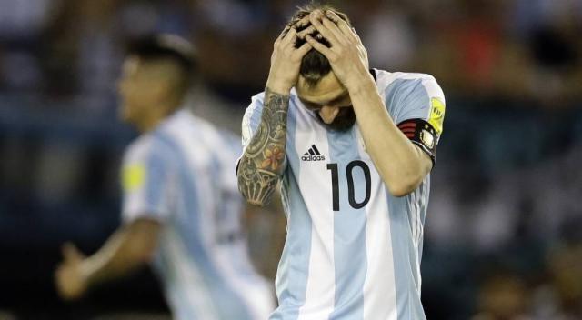Argentina chegou ao fundo do poço ao empatar com a Venezuela