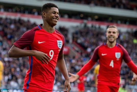 England 2-1 Australia: Marcus Rashford makes case for Euro 2016 ... - dailymail.co.uk