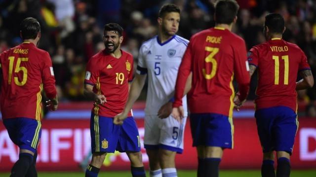 3 punti e differenza reti: la Spagna stende 4-1 Israele e mantiene ... - eurosport.com