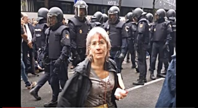 Catalonia independence referendum crackdown Epimetheus YouTube