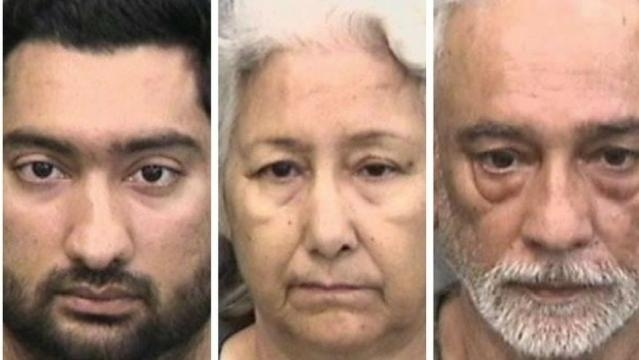 Familia de indieni din Florida arestată pentru violență domestică - Foto: The Hillsborough County Sheriff's Office