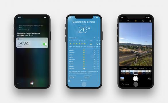IOS 11 operativo en un iphone 8