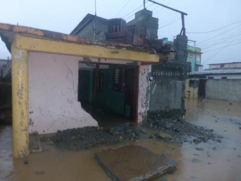Primeras imágenes sobre el contacto del huracán Irma en Cuba 1
