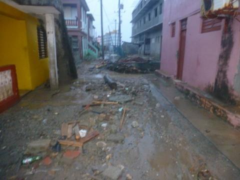Primeras imágenes sobre el contacto del huracán Irma en Cuba 2