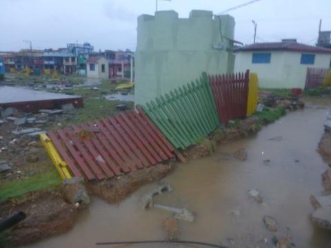 Primeras imágenes sobre el contacto del huracán Irma en Cuba 3