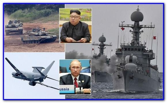 """Vladimir Putin avertizează că este posibil ca modul în care decurge criza coreeană să ducă la o """"catastrofă planetară globală"""" - Foto: Daily Mail"""