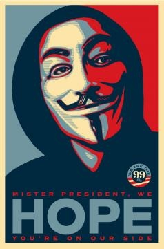 http://www.laweekly.com/news/shepard-fairey-designs-occupy-hope-poster-replaces-obamas-face-with-v-for-vendetta-mask-2392523