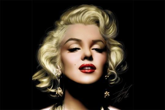 Marilyn Monroe Red Lips - Osare il colore Rosso - aliexpress.com