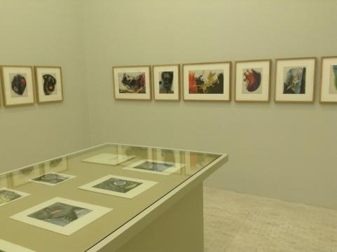 Se muestra así mismo una colección de estampas que describen el trabajo gráfico de Tamayo.