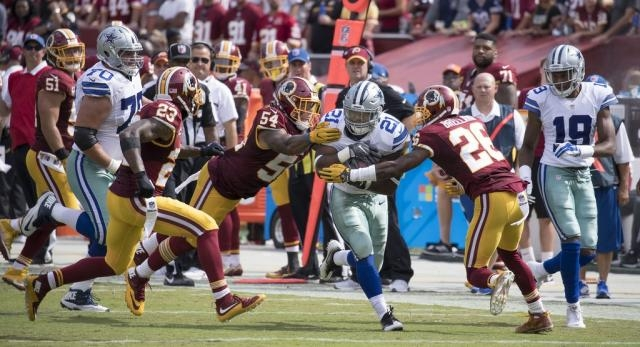 Whether the Dallas Cowboys can beat the New York Giants will depend heavily on running back Ezekiel Elliott -- Keith Allison/Flickr