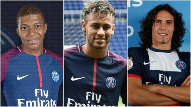 Neymar-Mbappe-Cavani: The most expensive attack in history | MARCA ... - marca.com