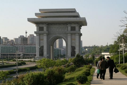PyongYang-Arch of Triumph (Credit – Gilad.rom – wikimediacommons)