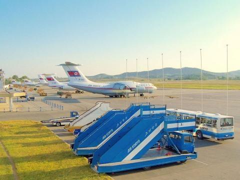 Sunan International Airport, Pyongyang (Credit – Kok Leng Yeo – wiimediacommons)