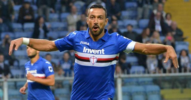 """Sampdoria, Quagliarella: """"Momento d'oro, Giampaolo deve restare"""
