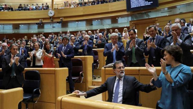 El Senado da luz verde a la aplicación del artículo 155