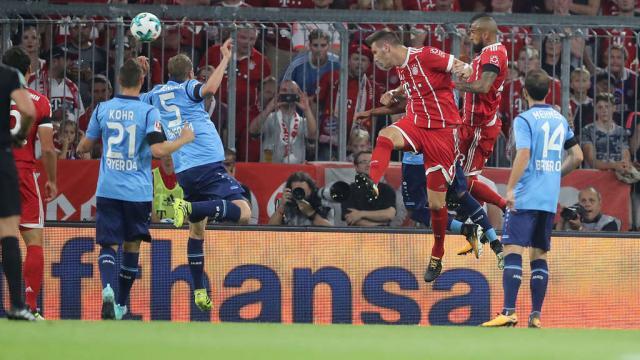 FC Bayern gegen Bayer 04 Leverkusen, 1. Spieltag Bundesliga ... - tz.de