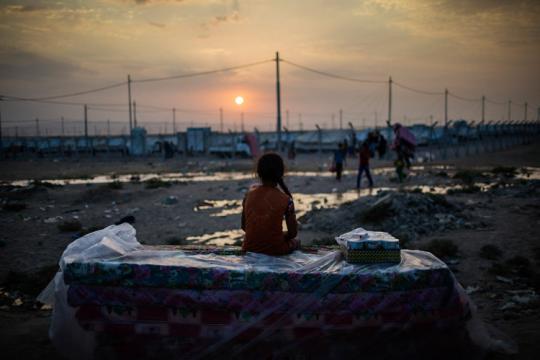 MareNostrum: Guerra y éxodo en el Mediterráneo. Fotografía de Diego Ibarra