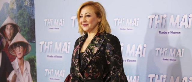 Carmen Machi en el preestreno de Thi Mai