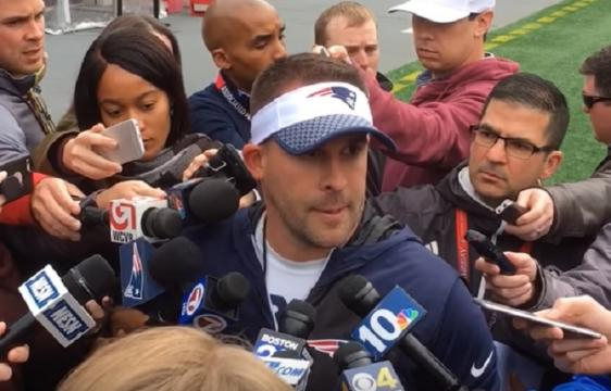 Josh McDaniels is the best candidate for the Colts' head coaching job (Image Credit: MassLive/YouTube)