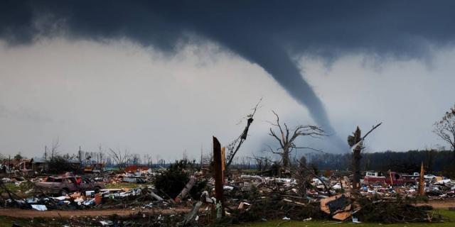 Ejemplo de desastre similar al ocurrido en EEUU.