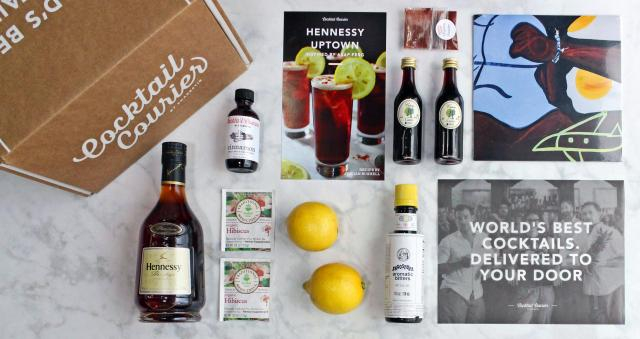 Hennessy, ASAP Ferg collaboration with Cocktail Courier (image use with permission of Hennessy))