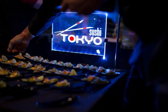 Sushi from KFWE 2017 (Images used with permission from Royal Wine/Kedem)