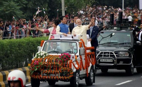 Shinzo Abe in Gujarat Day 1: Narendra Modi, Japanese PM hold ... - firstpost.com
